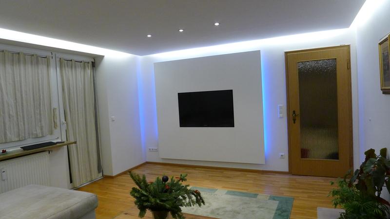 Cimke - hangulatvilágítás, kék , LED szalag, világítás